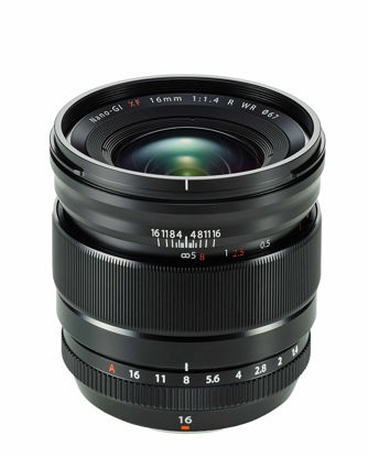 Picture of Fuji XF 16mm 1.4  R  WR Wide Lens