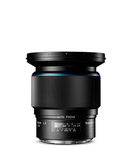 Picture of Phase One Schneider 35mm  F3.5  Leaf Shutter Lens Blue Line