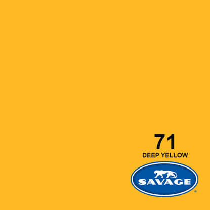 """Picture of 53"""" Seamless Deep Yellow 71-1253"""