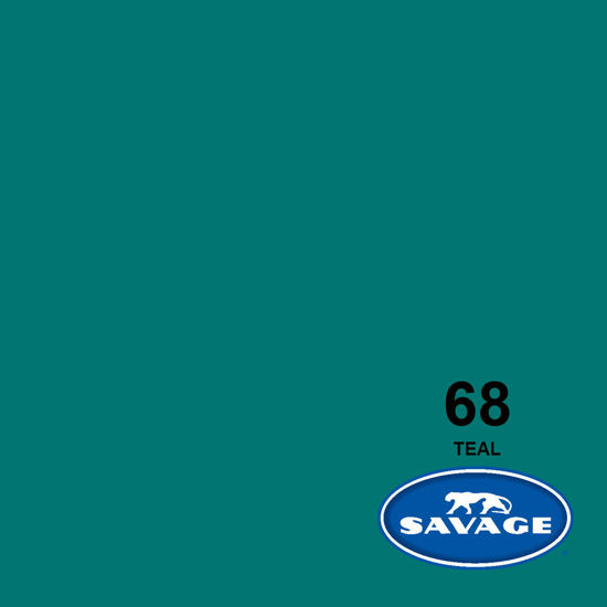 "Picture of 53"" Seamless Teal 68-1253"