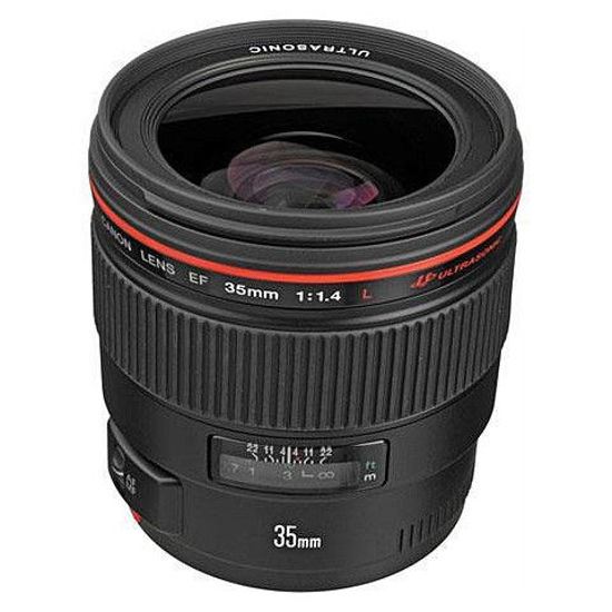 Picture of Canon 35mm F1.4 L USM Lens