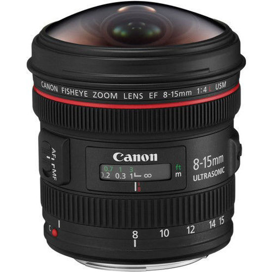 Picture of Canon 8-15mm F4.0 L Fisheye Zoom Lens