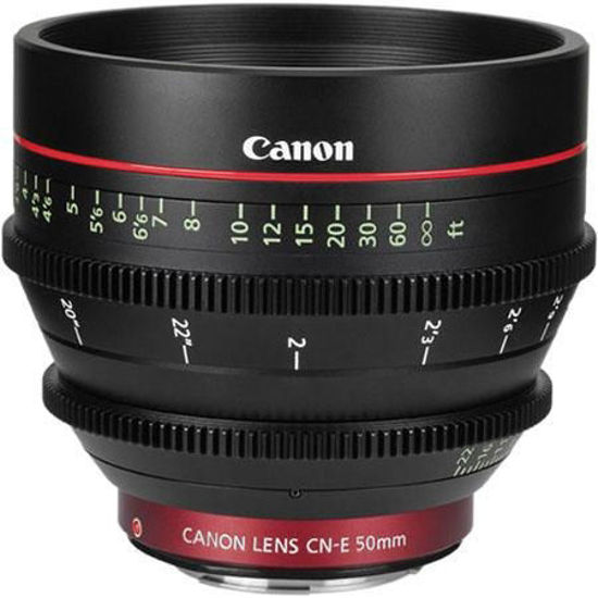 Picture of Canon CN 50mm T1.3 Cine Lens