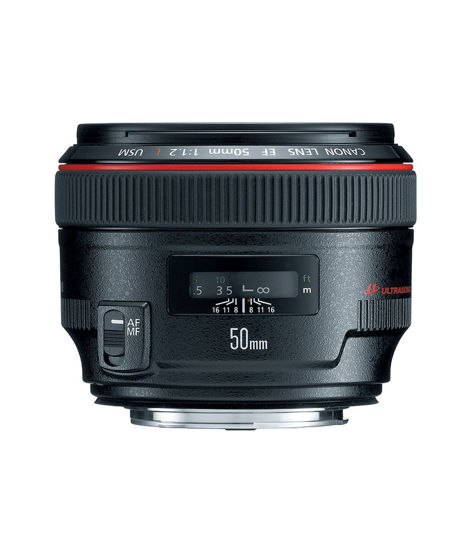Picture of Canon 50mm F1.2 L USM Lens