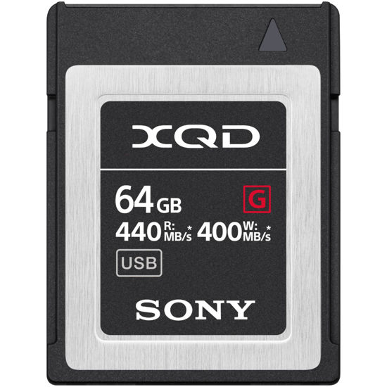 Picture of 64gb XQD Sony Card 440 mb/ps