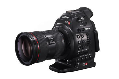 Picture of Canon C100 Digital Cinema Body w/grip