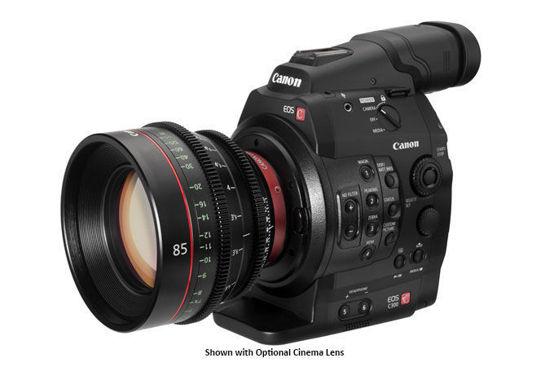 Picture of Canon C300  Video Camera w/ Grip