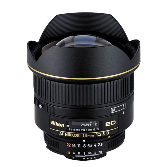 Picture of Nikon 14mm F2.8AF-D Lens W/F&R