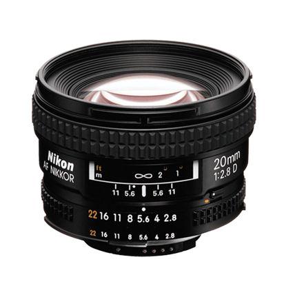 Picture of Nikon 20mm F2.8AF Lens F&R/F