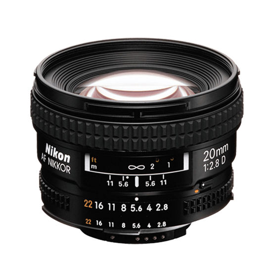 Picture of Nikon 20mm F2.8AF Lens F&R/F