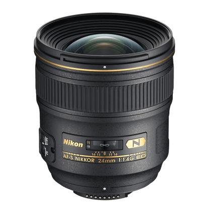 Picture of Nikon 24mm F1.4AF-S G Lens F&R/F