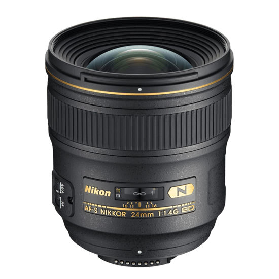 Picture of Nikon 24mm F1.4AF-S G Lens F&R/F