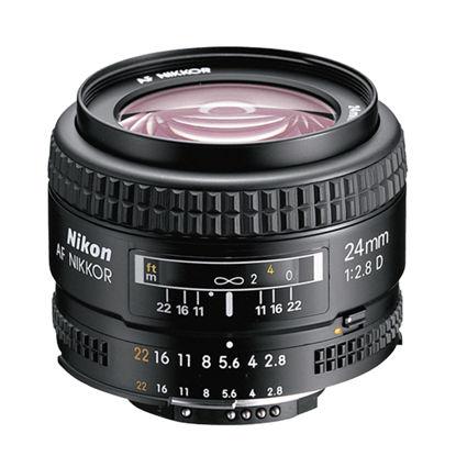 Picture of Nikon 24mm F2.8D AF Lens F&R/F
