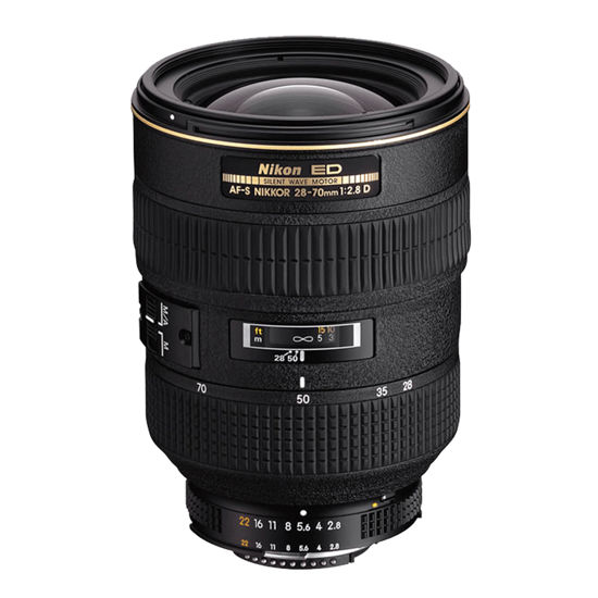 Picture of Nikon 28-70mm 2.8D AF-S IF ED
