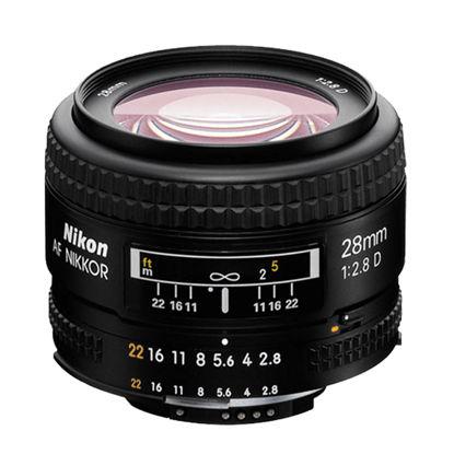 Picture of Nikon 28mm F2.8AF-D Lens