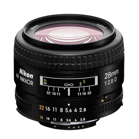 Picture of Nikon 28mm F2.8AF-D Lens
