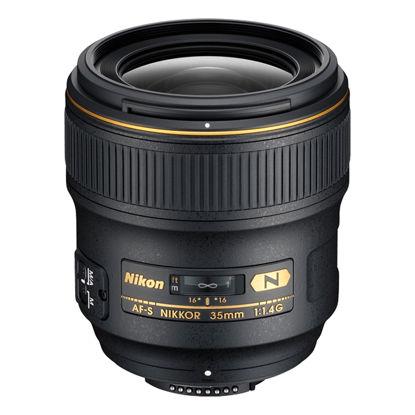 Picture of Nikon 35mm F1.4AF-S G Lens F&R/F