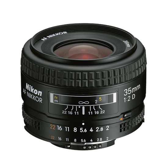 Picture of Nikon 35mm F2.0AFD Lens F&R/F