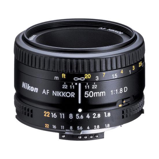 Picture of Nikon 50mm F1.8AF Lens F&R/F