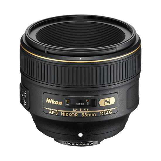 Picture of Nikon 58mm 1.4 G AF-S Lens