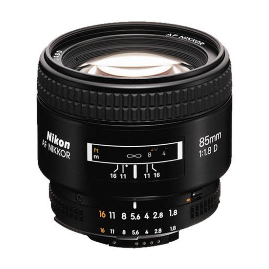 Picture of Nikon 85mm F1.8AF Lens F&R/F
