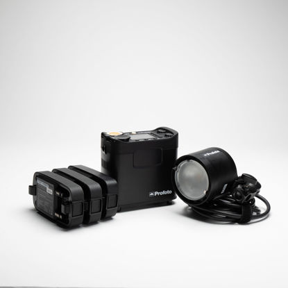 Picture of ProFoto B2  OCF 250  TTL  (KIT-Pack-Head & 3 Batts)