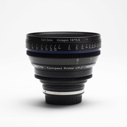 Picture of Zeiss 18mm T3.6 Compact Prime CP.2 Canon mount