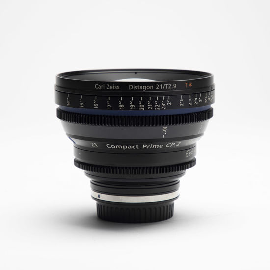 Picture of Zeiss 21mm T2.9 Compact Prime CP.2 Canon mount