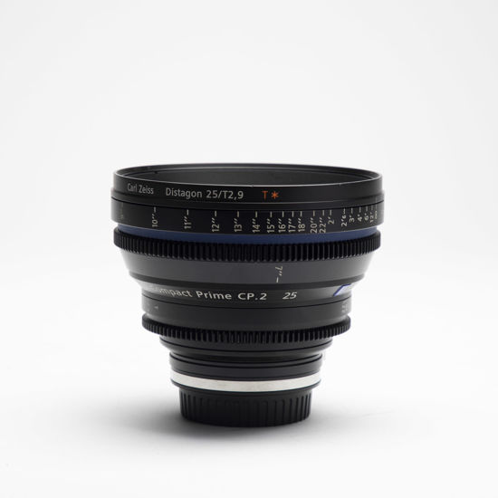 Picture of Zeiss 25mm T2.9 Compact Prime CP.2 Canon mount