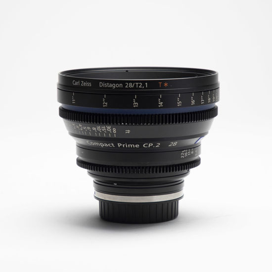Picture of Zeiss 28mm T2.1 Compact Prime CP.2 Canon mount