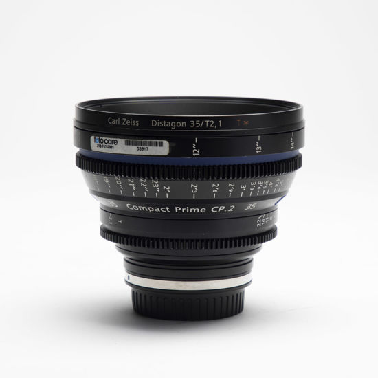Picture of Zeiss 35mm T2.1 Compact Prime CP.2 Canon mount