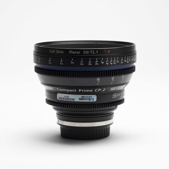 Picture of Zeiss 50mm T2.1 Compact Prime CP.2 Canon mount