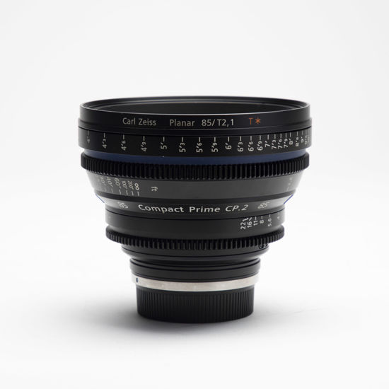 Picture of Zeiss 85mm T2.1 Compact Prime CP.2 Canon mount