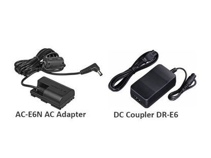 Picture of Canon AC Adapter and DC Coupler Kit ACK-E6