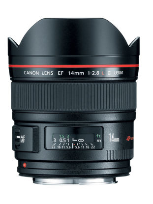 Picture of Canon 14mm F2.8L II USM Lens