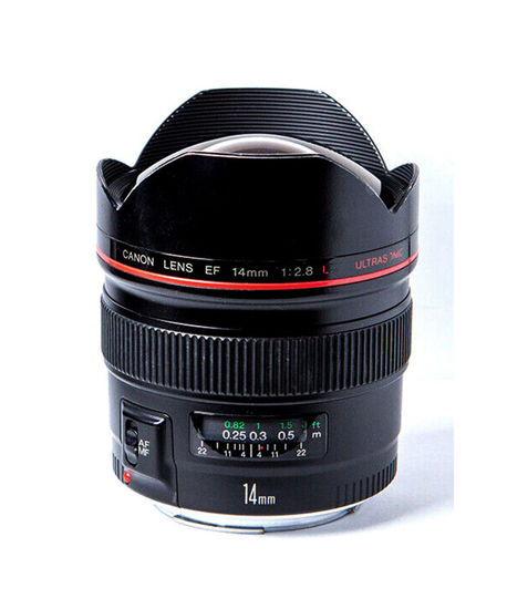 Picture of Canon 14mm F2.8L USM Lens