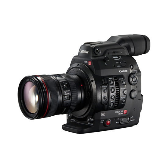 Picture of Canon C300 Mk II  Video Camera w/ Grip