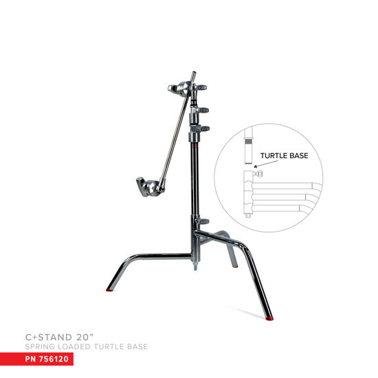"""Picture of Matthews 20"""" C+ Stand W/Turtle Base"""