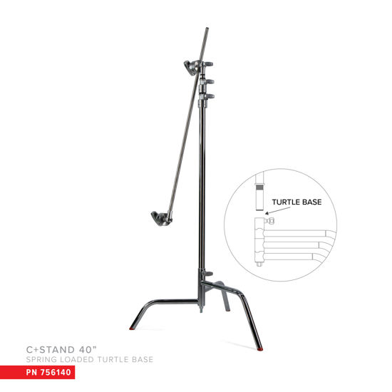 """Picture of Matthews 40"""" C+ Stand W/Turtle Base"""