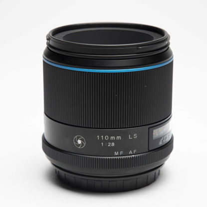 Picture of Phase One Schneider 110mm  F2.8 Leaf Shutter Lens Blue Line