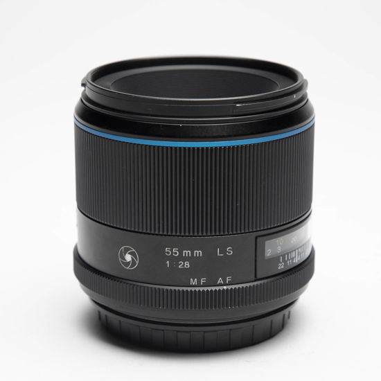 Picture of Phase One Schneider 55mm  F2.8 Leaf Shutter Lens Blue Line