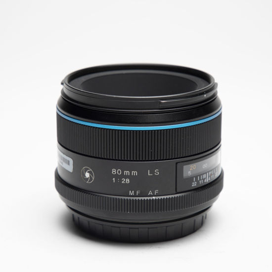 Picture of Phase One Schneider 80mm  F2.8 Leaf Shutter Lens Blue Line
