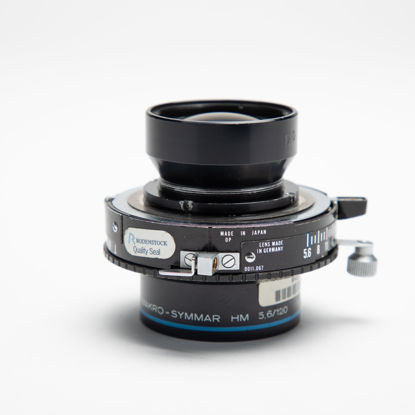 Picture of Schneider Makro-Symmar 120mm F5.6 HM  View Camera Lens