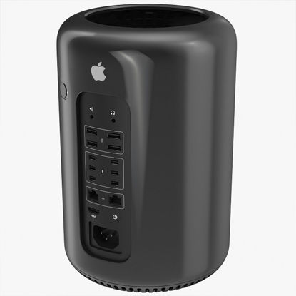 Picture of MacPro Cylinder 3.5Ghz 6-Core Intel Xeon 32Gb Ram Tower