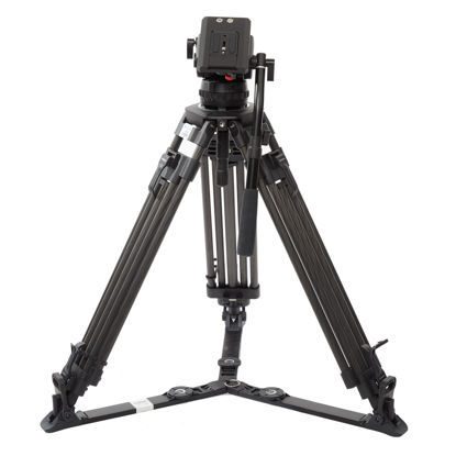 Picture of Benro Video Tripod Large Dual Tube w/ head Carbon Fiber (BVX16CF/16H)