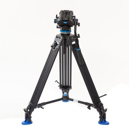 Picture of Benro Video Tripod Small Dual Tube w/ head Carbon Fiber (A673T/S8)