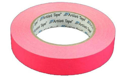 "Picture of 1"" Pink Paper tape"