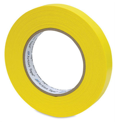 "Picture of 1"" Yellow Paper tape"