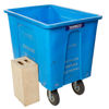 """Picture of Large Blue EQ Bin 30""""WX41""""Dx30""""H"""