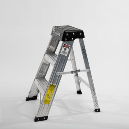 """Picture of Three Step Ladder 24"""""""